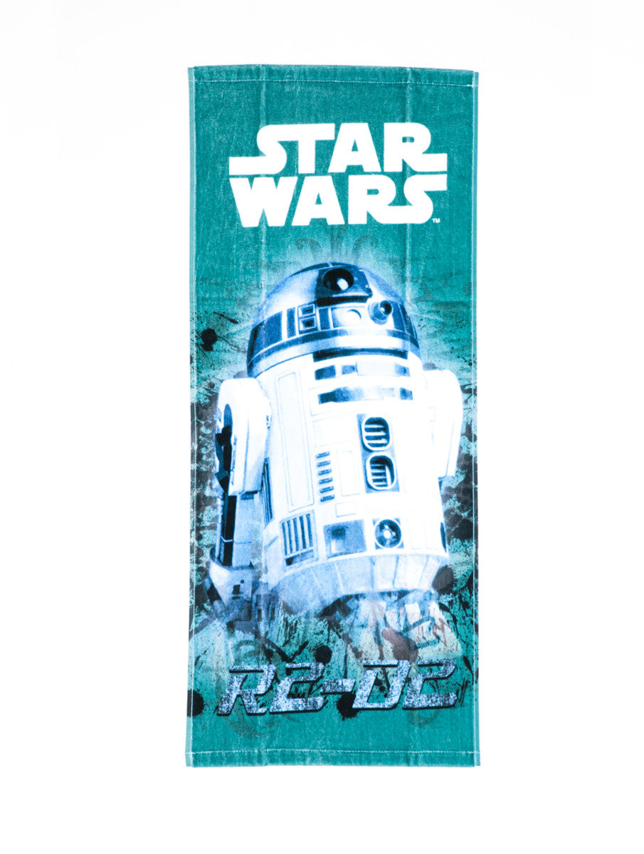 Star War 系列長面巾 (34 x 80cm) - R2-D2