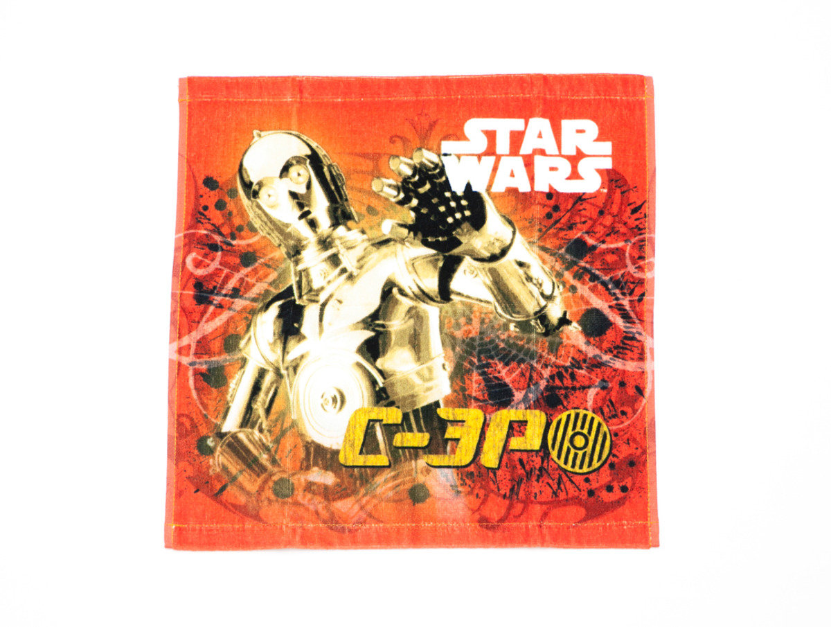 Star War 系列小方巾 (34 x 35cm) - C-3PO