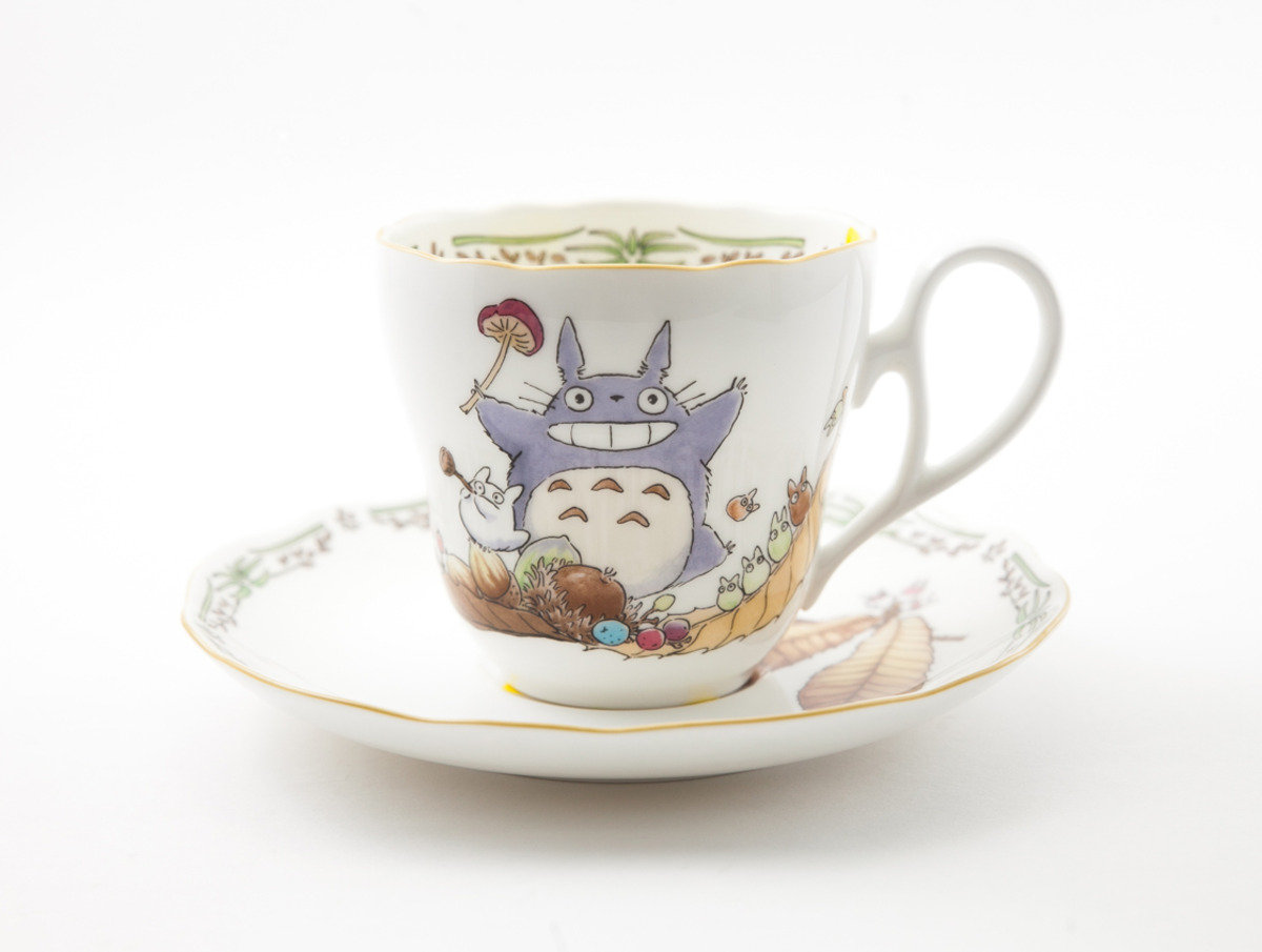 龍貓 X Noritake 瓷具系列 - 陶瓷杯連碟(N664) 4924-7
