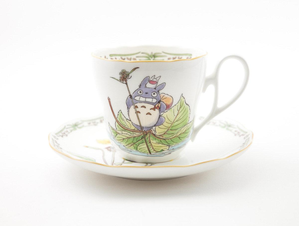龍貓 X Noritake 瓷具系列 - 陶瓷杯連碟(N665) 4924-8