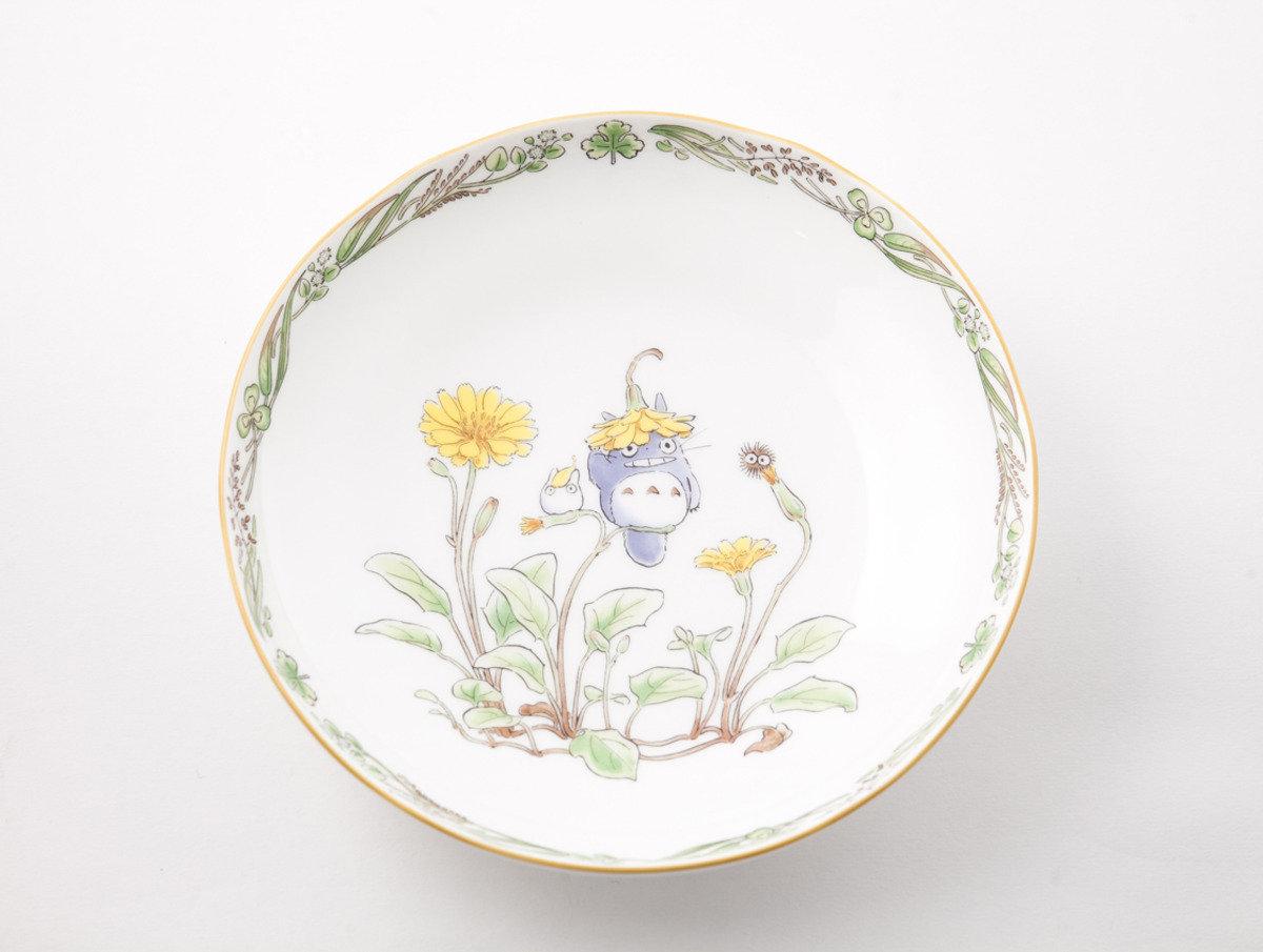 龍貓 X Noritake 瓷具系列 - 陶瓷碟19.5cm(N635) 4924-7