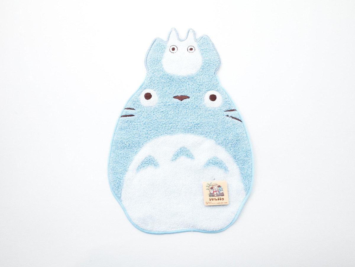 龍貓形小方巾28 x 20cm - 中トト(T424)