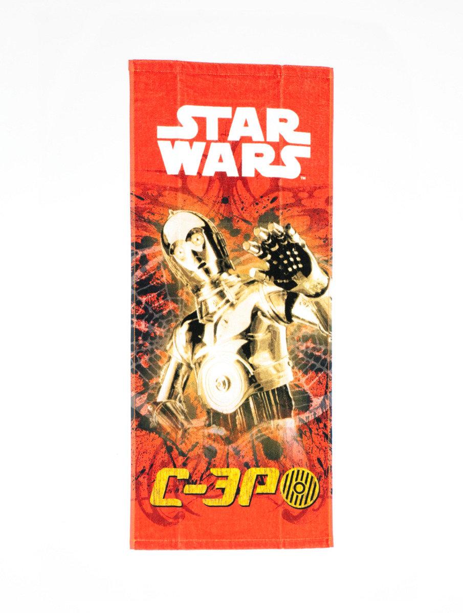 Star War 系列長面巾 (34 x 80cm) - C-3PO