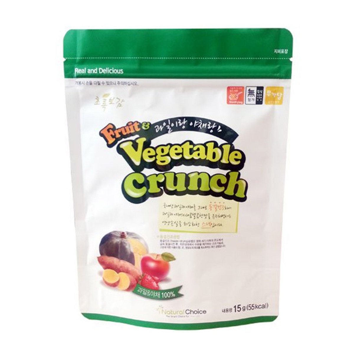 Natural Choice - 100%自然冷凍乾蔬果片 15克