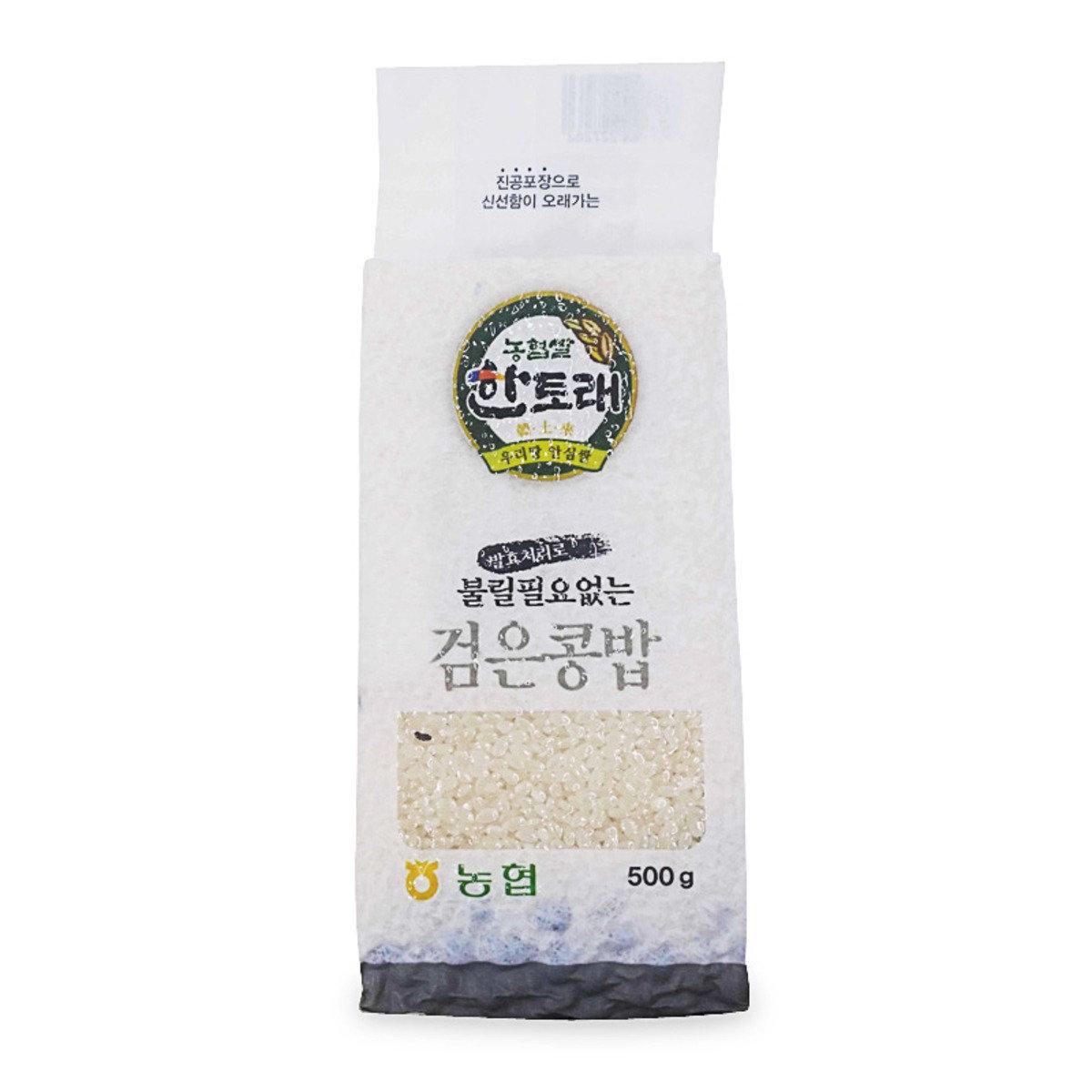 韓土來米混合發酵黑豆 500克