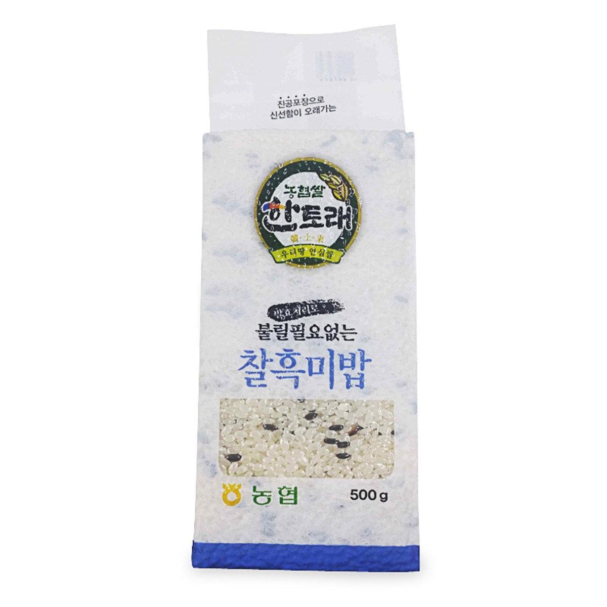 韓土來米混合發酵黑米 500克