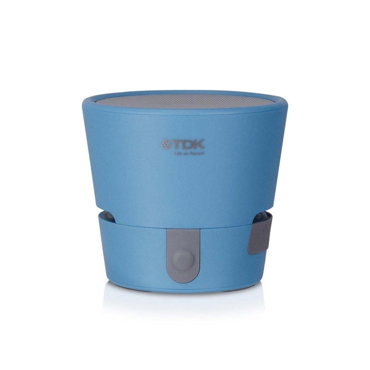 A08 TREK MINI 便攜式全天候藍牙無線喇叭,藍色