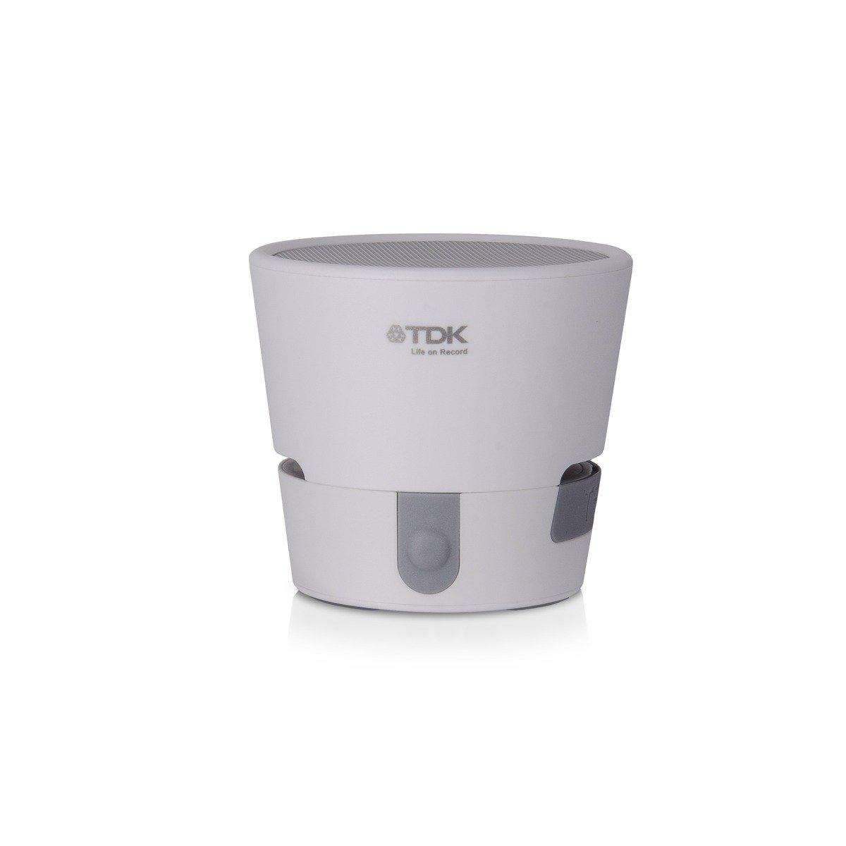 A08 TREK MINI 便攜式全天候藍牙無線喇叭,白色