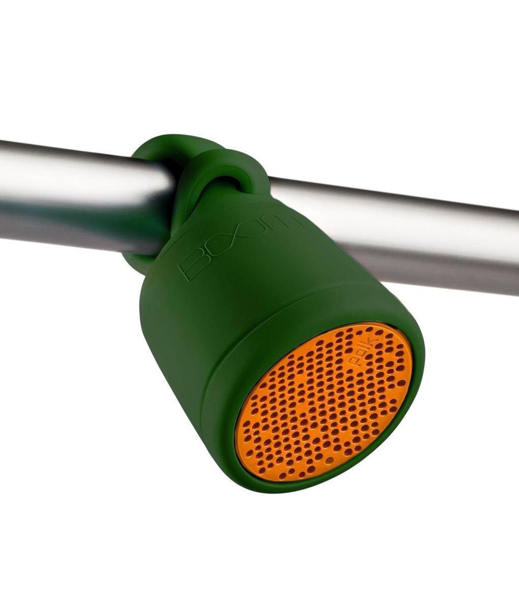 SWIMMER DUO 防水藍牙喇叭, 綠色/橙色