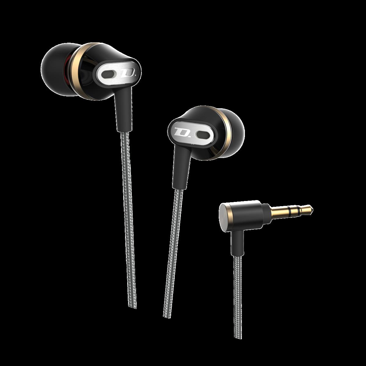 DM100 入耳式耳機, 黑色
