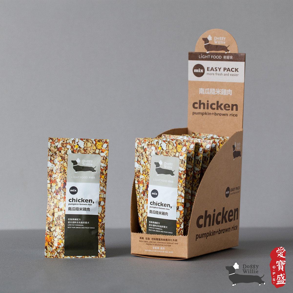 南瓜糙米雞肉 15g