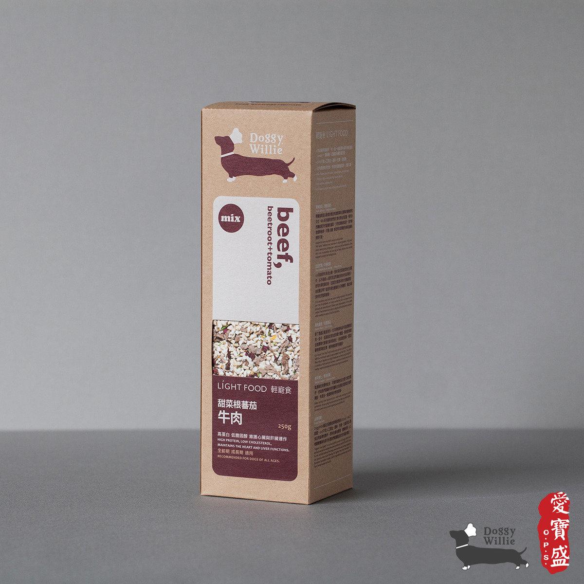 甜菜根蕃茄牛肉 250g