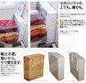 日本設計-薄型便座用品收納櫃
