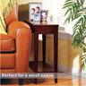 英式玄關原木邊桌 (淺木色)