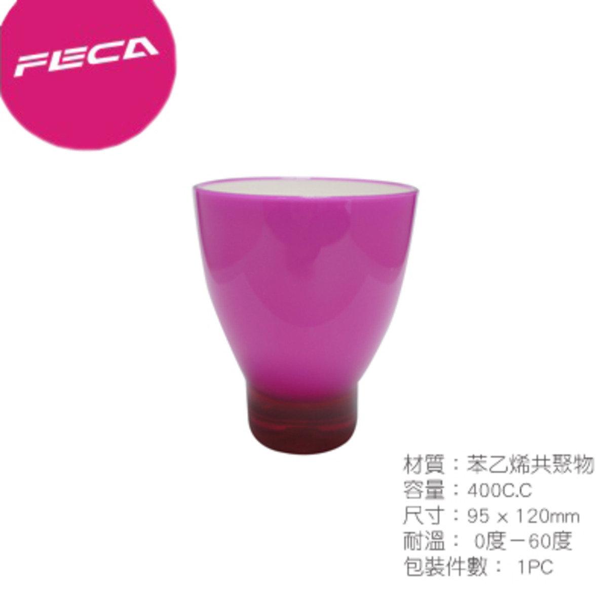 DC1 - 雙層壓克力杯 - 玫紅色