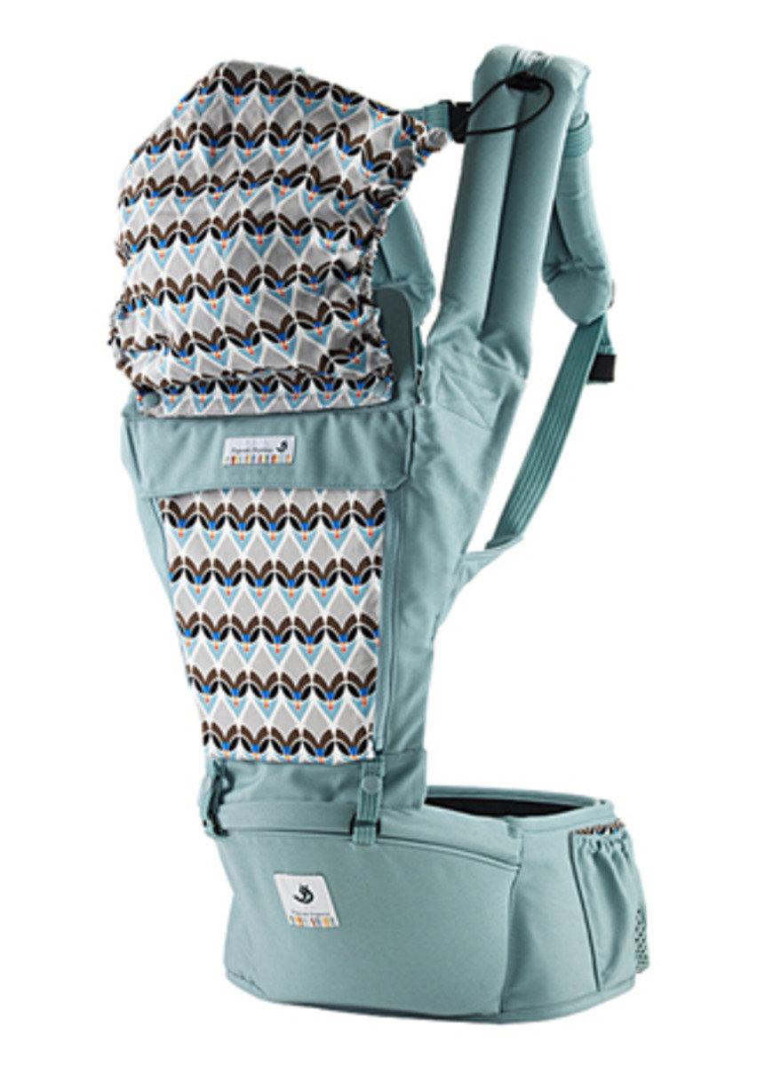 ORGA 100% 有機坐墊式孭帶 淺藍