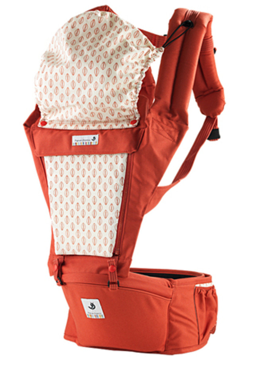 ORGA 100% 有機坐墊式孭帶  橙