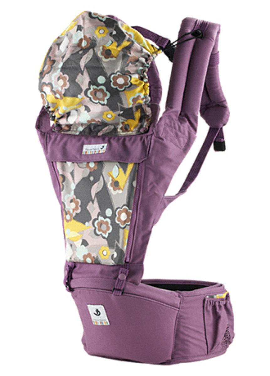 ORGA 100% 有機坐墊式孭帶 淺紫