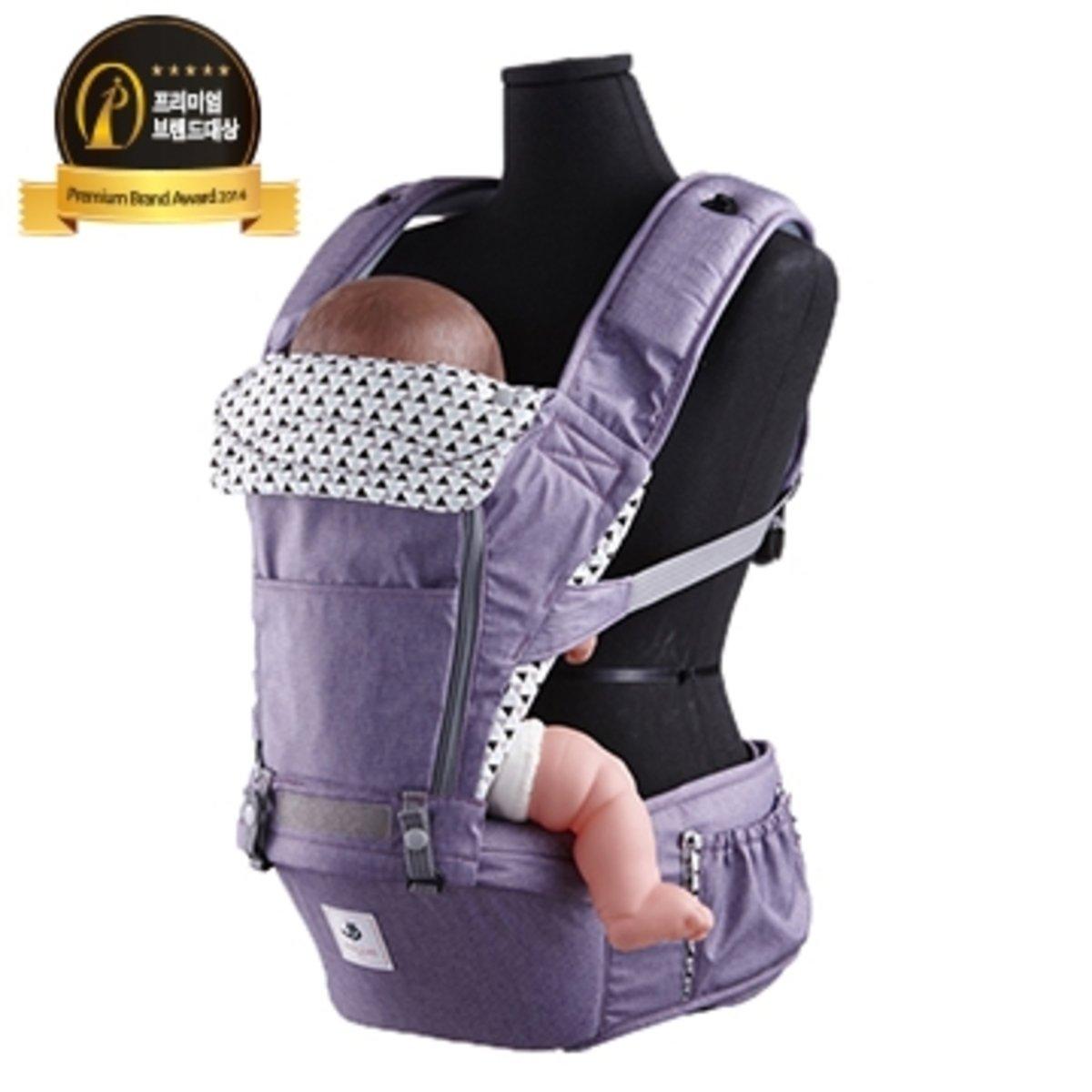 NO5 超輕量腰凳揹帶 紫