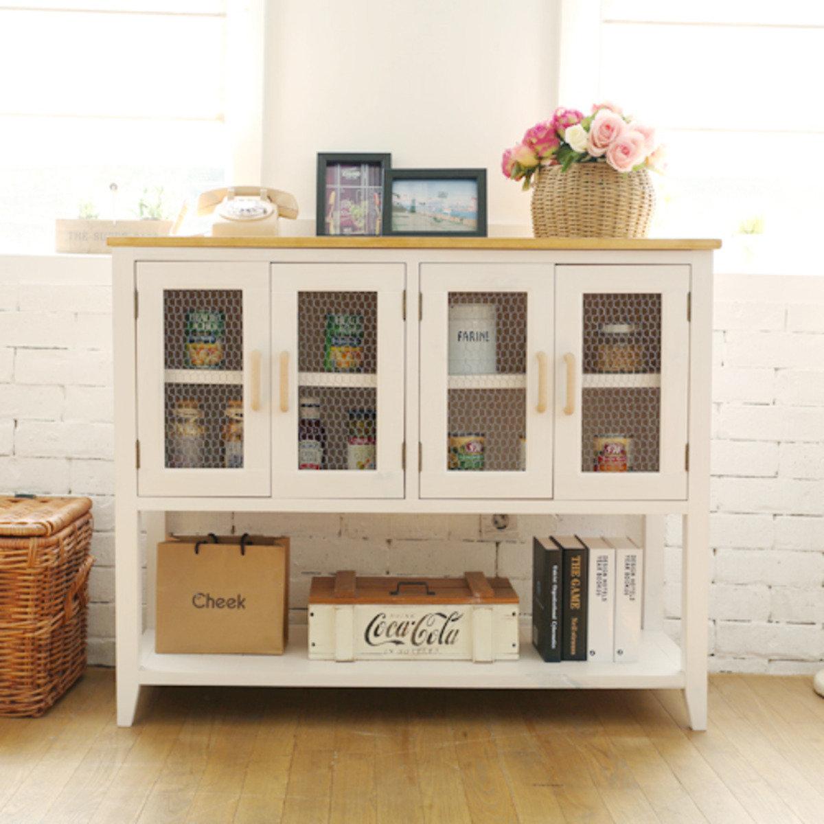 Alish木製裝飾櫃