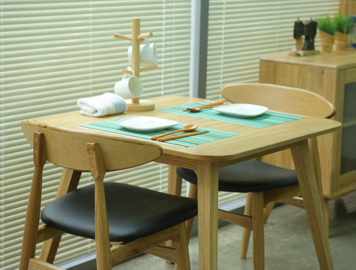 木製餐桌連2餐椅