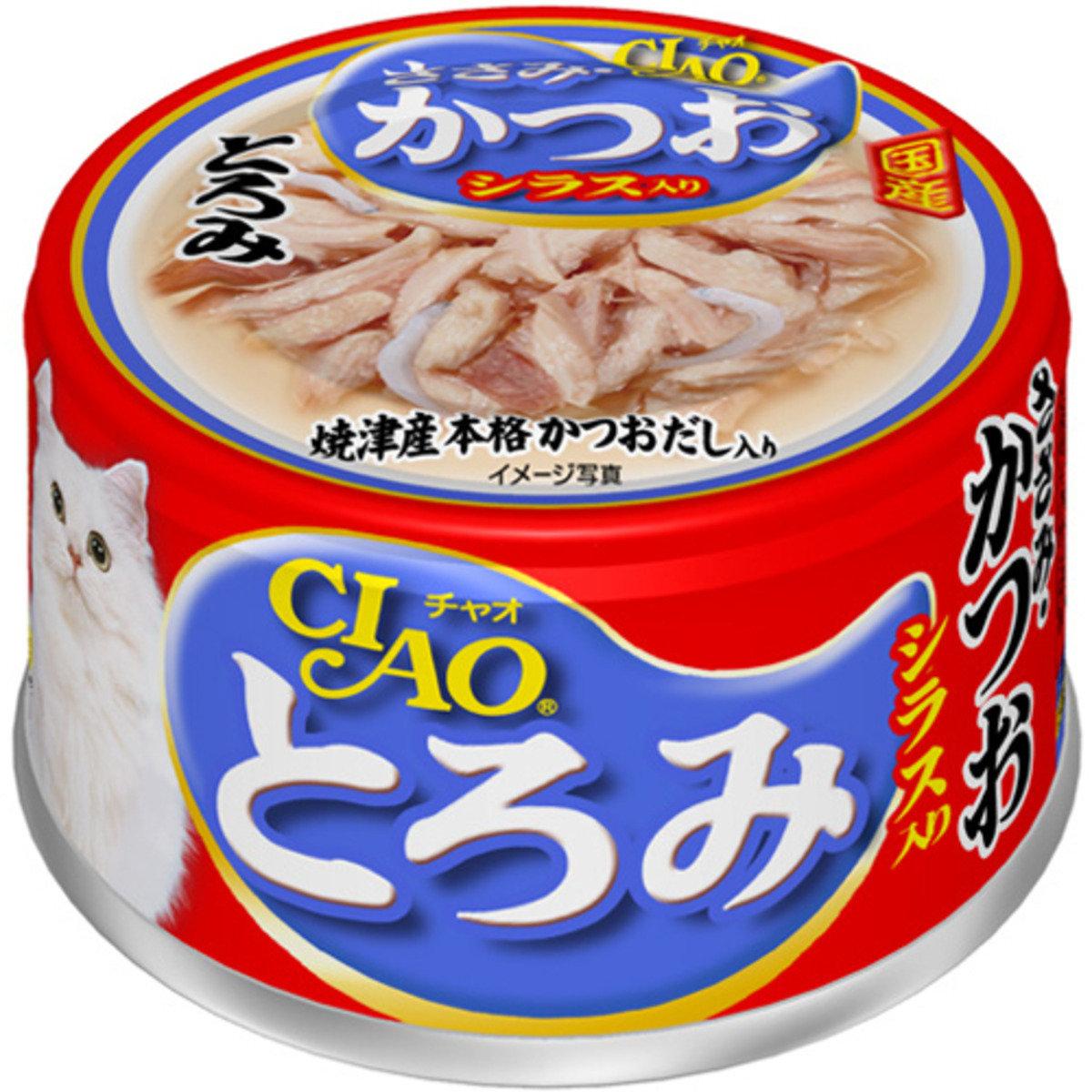 CIAO 雞肉鰹魚銀魚 A-45 80g