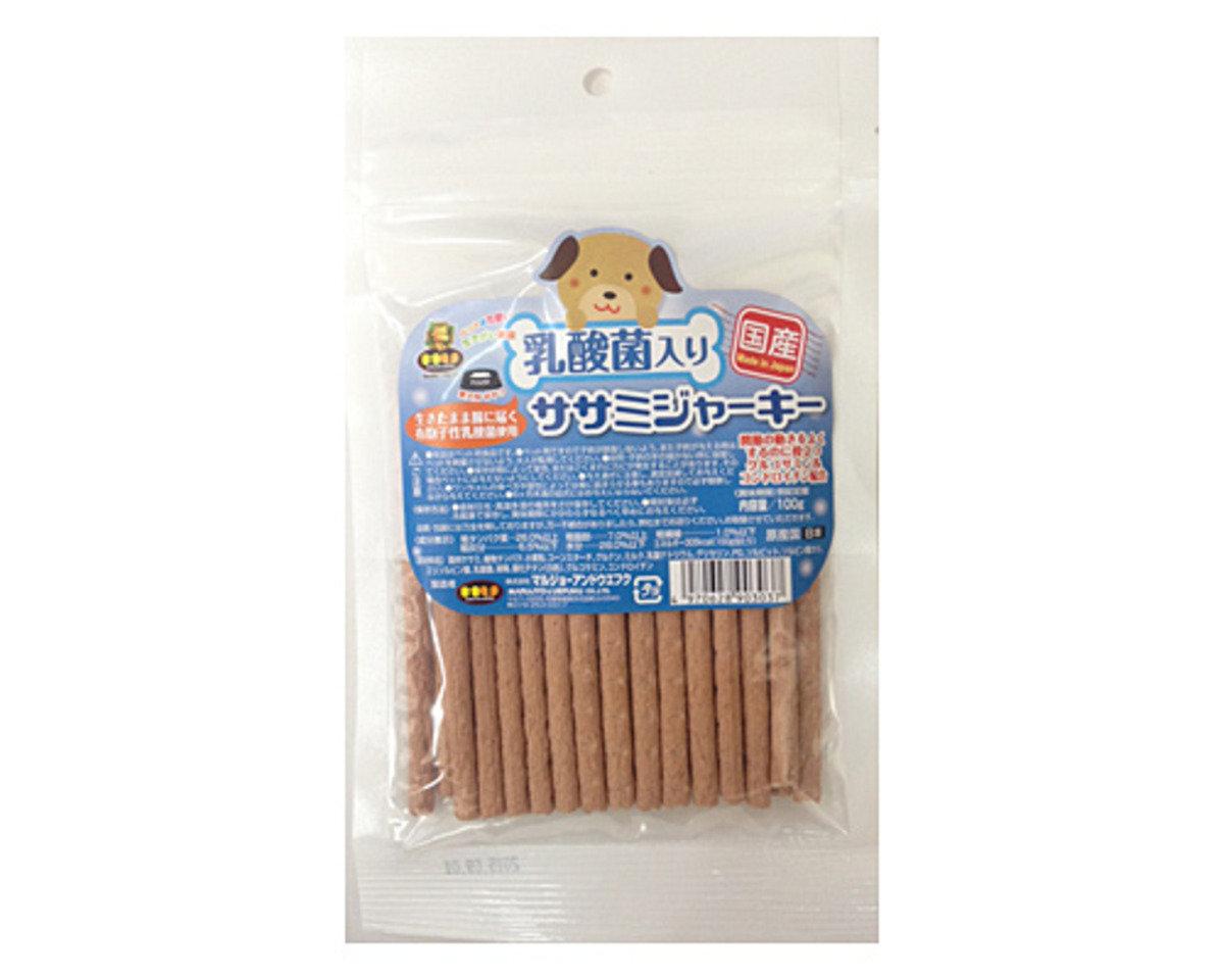 日本 MU 乳酸菌雞肉條 100g