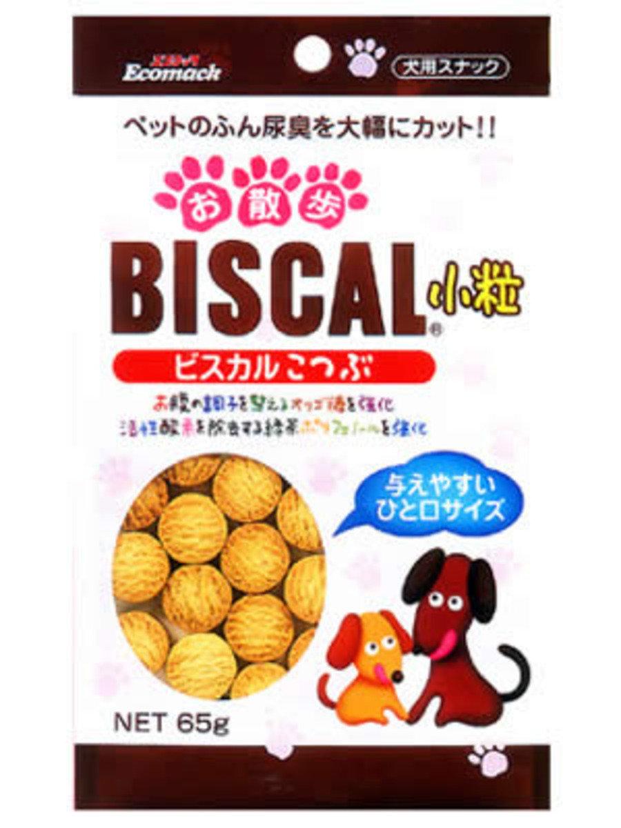 日本 GENDAI - BISCAL 小粒消尿臭餅乾 65g