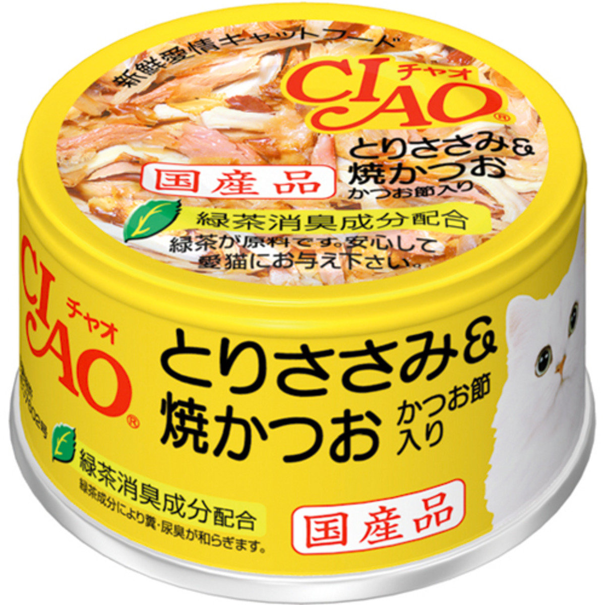 日本CIAO綠茶雞肉燒鰹魚 C-54