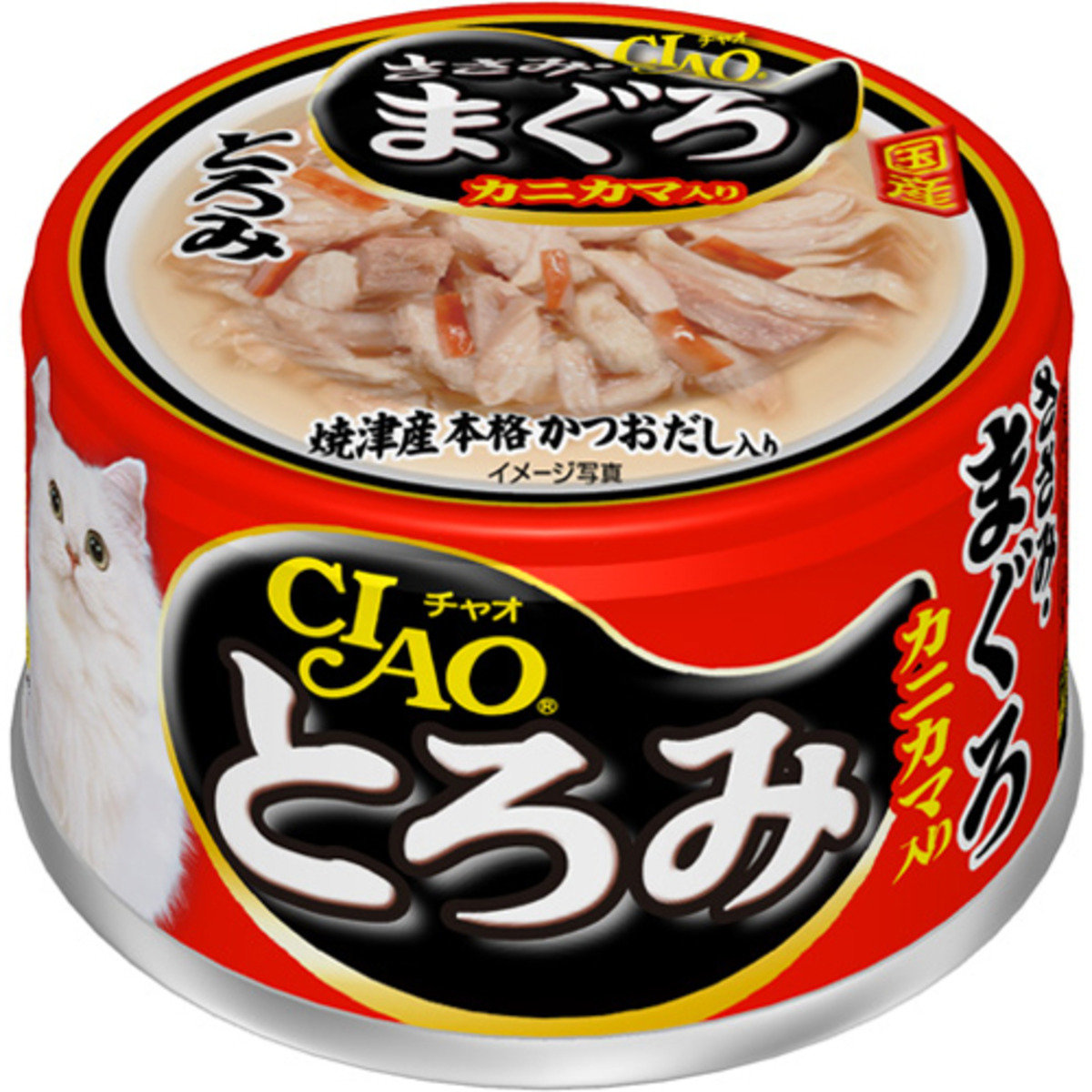 日本CIAO雞肉金槍魚蟹柳 A-43