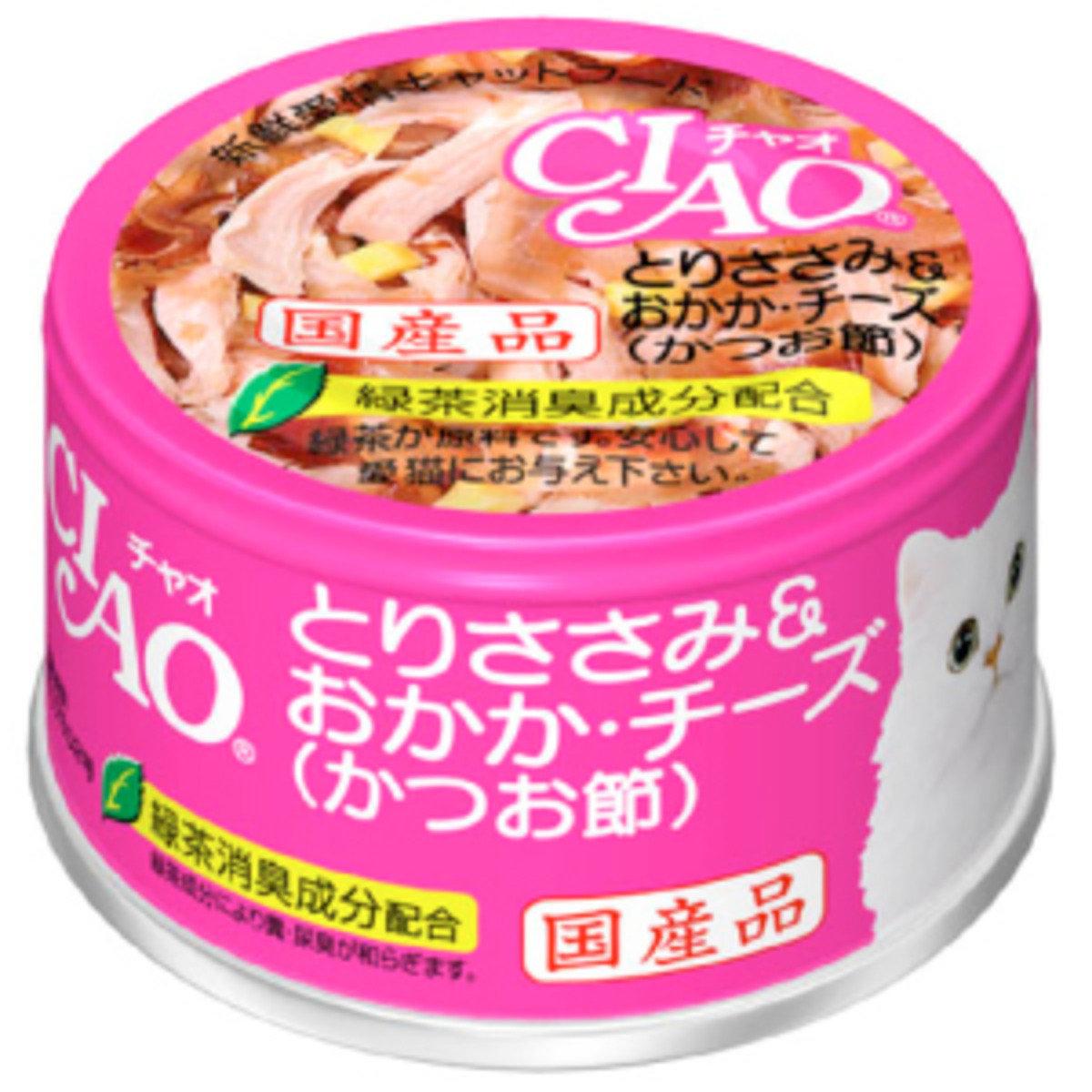 日本CIAO綠茶雞肉鰹魚芝士 C-17