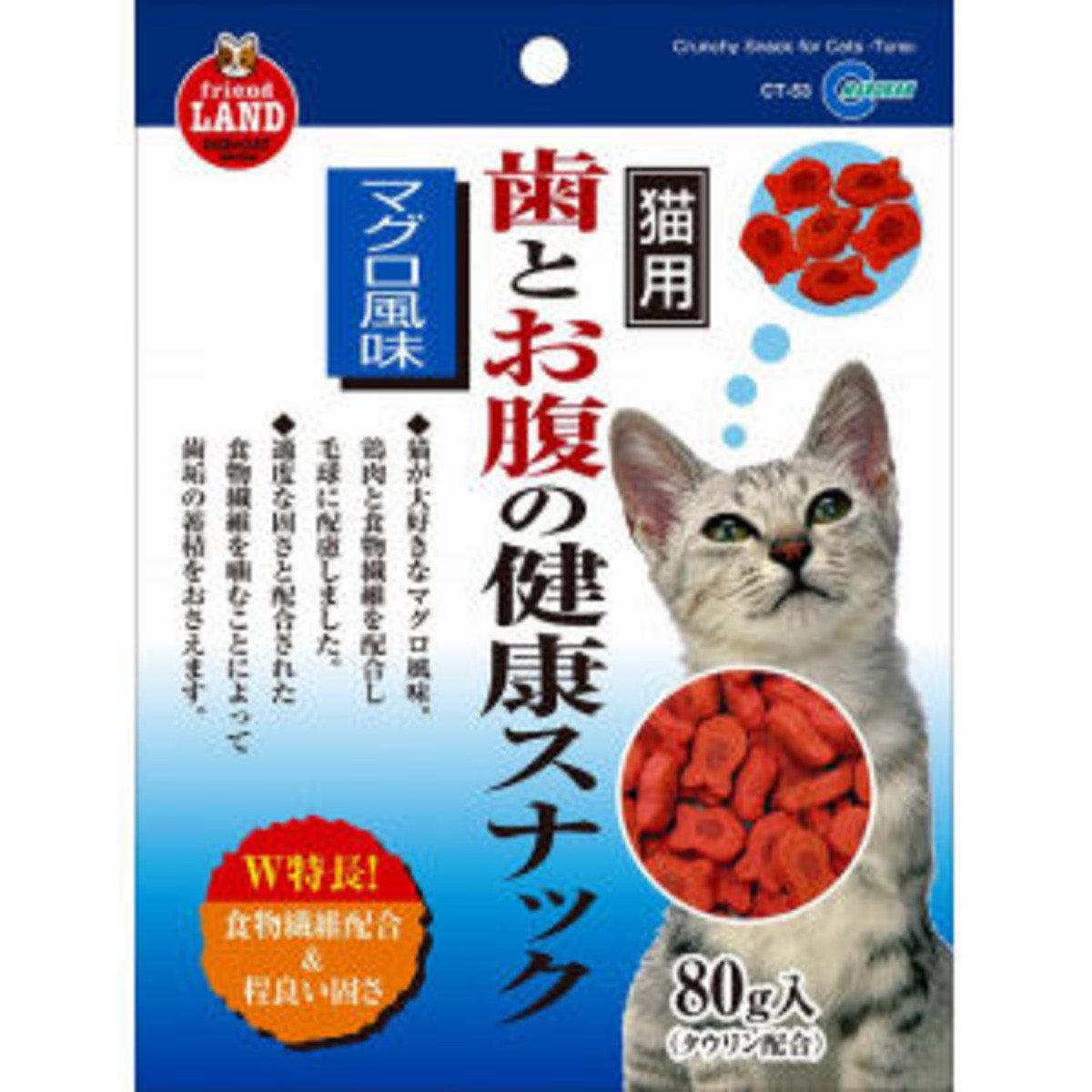 日本 MARUKAN 金槍魚味潔齒餅