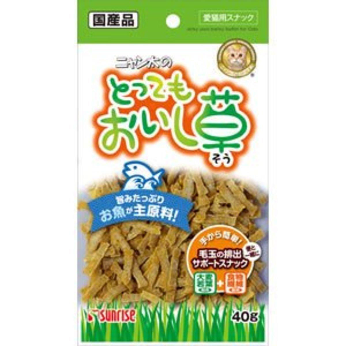 日本 SUNRISE 白身魚肉貓草條