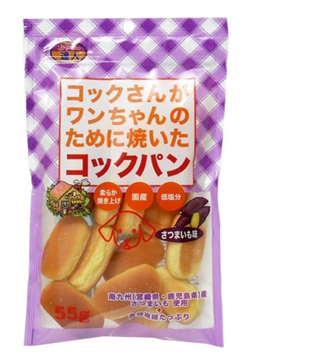 日本 SANMATE 甜薯味麵包 55g
