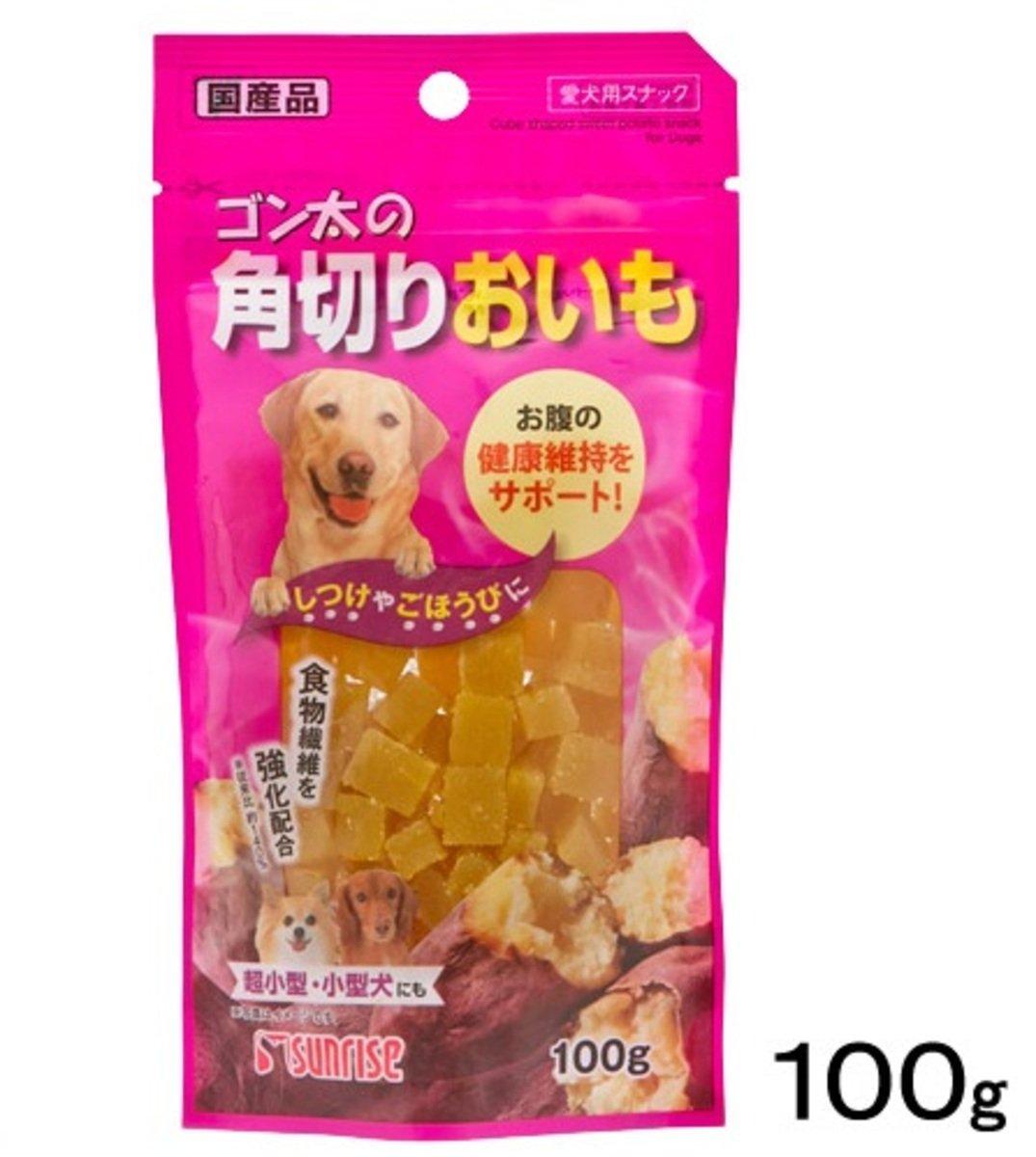日本 SUNRISE 甜薯切粒 100g