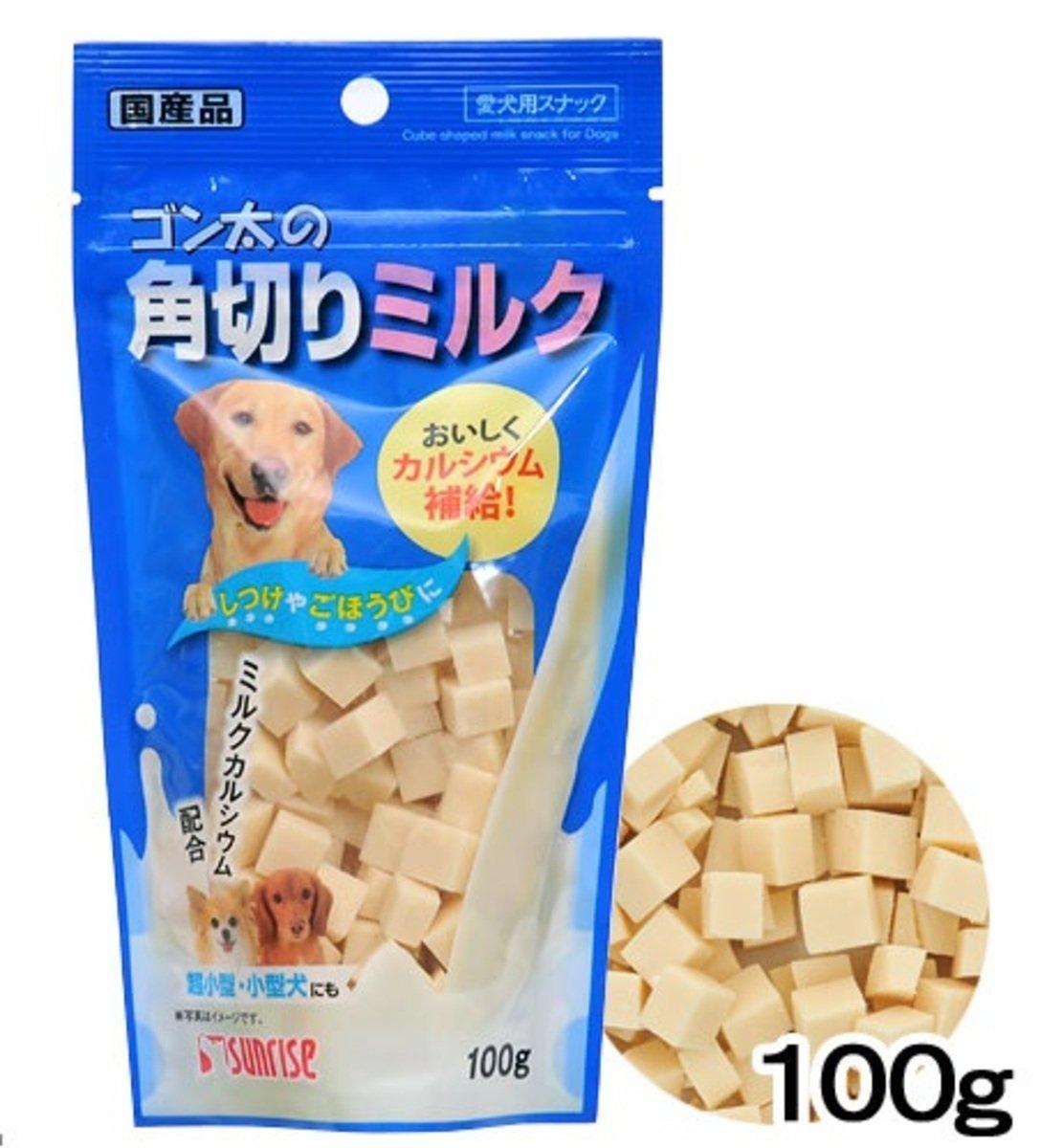 日本 SUNRISE 牛奶切粒 100g