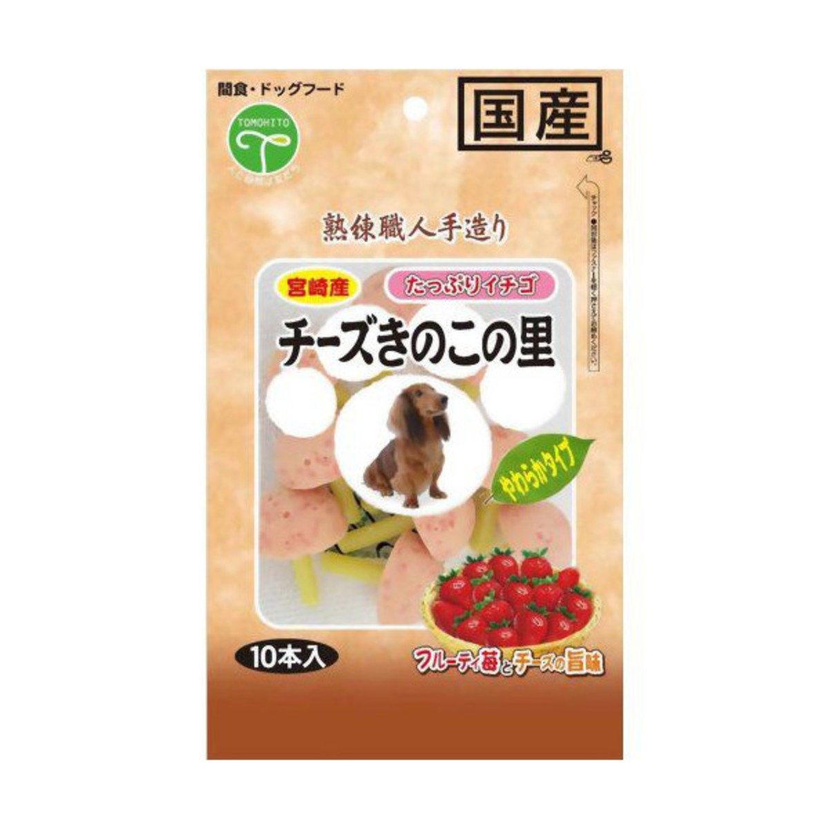 日本 TOMOHITO 草莓芝士珍寶棒 10本     到期日:1/3/2017