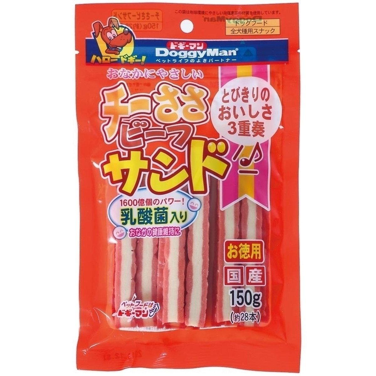 日本 DOGGYMAN 乳酸菌雞牛芝士肉條