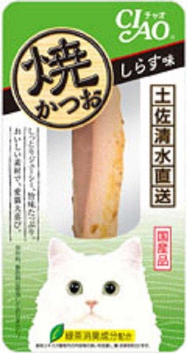 日本 INABA 綠茶白飯魚燒鰹魚柳 YK-03