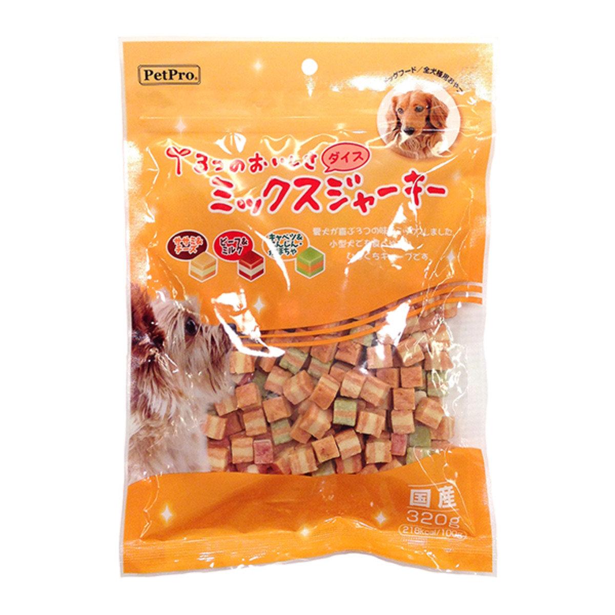 日本 PETPRO 雞牛芝士雜菜粒 320g
