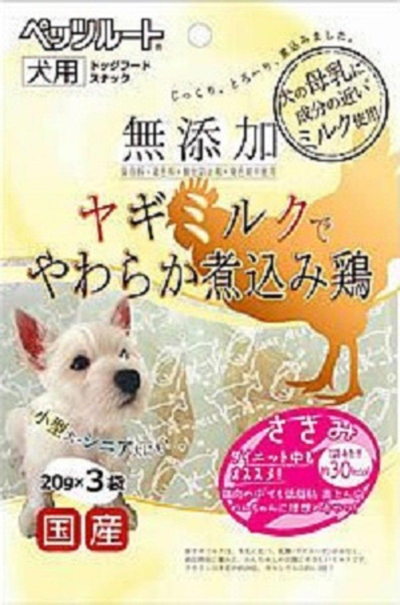 日本 PETZROUTE 羊奶雞胸肉 20g x 3