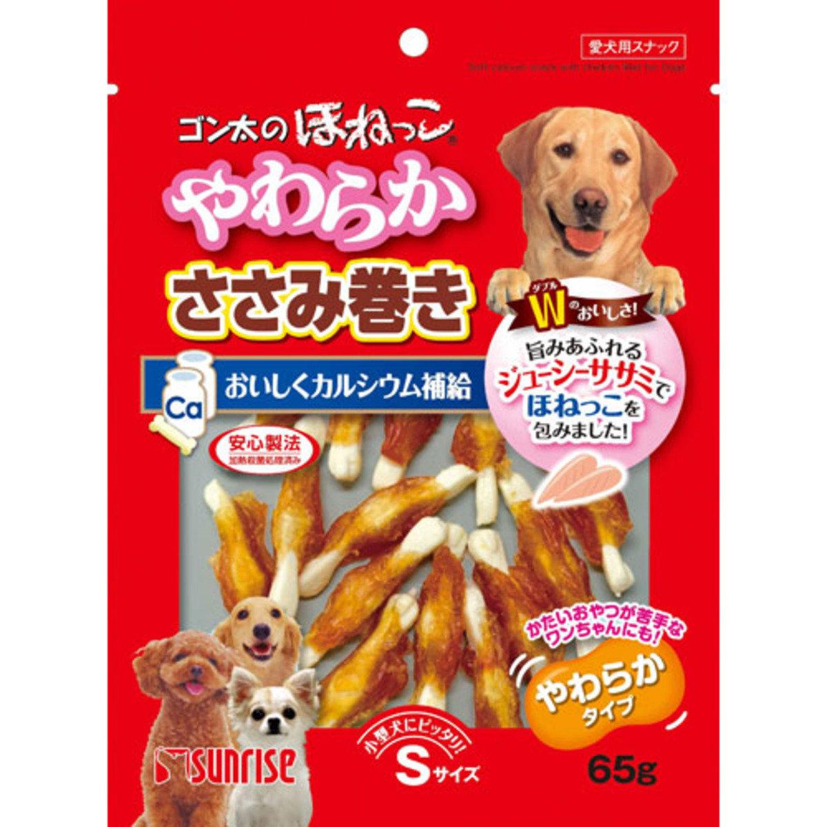 日本 SUNRISE 雞肉乳鈣棒 65g