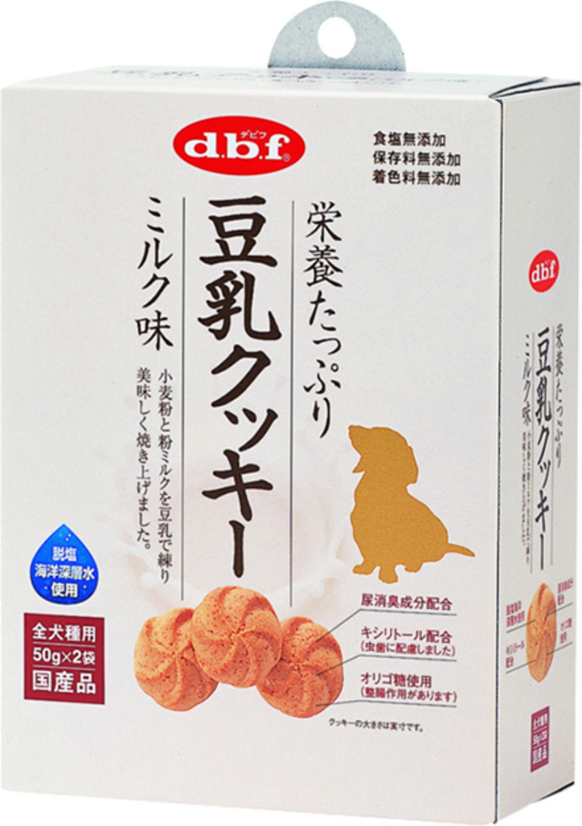 日本 DBF 豆漿牛奶曲奇