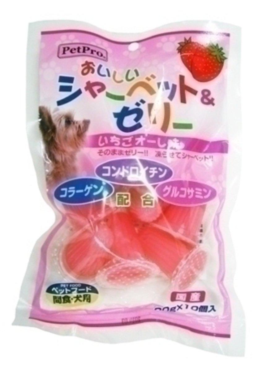日本 PETPRO 葡萄糖胺草莓果凍