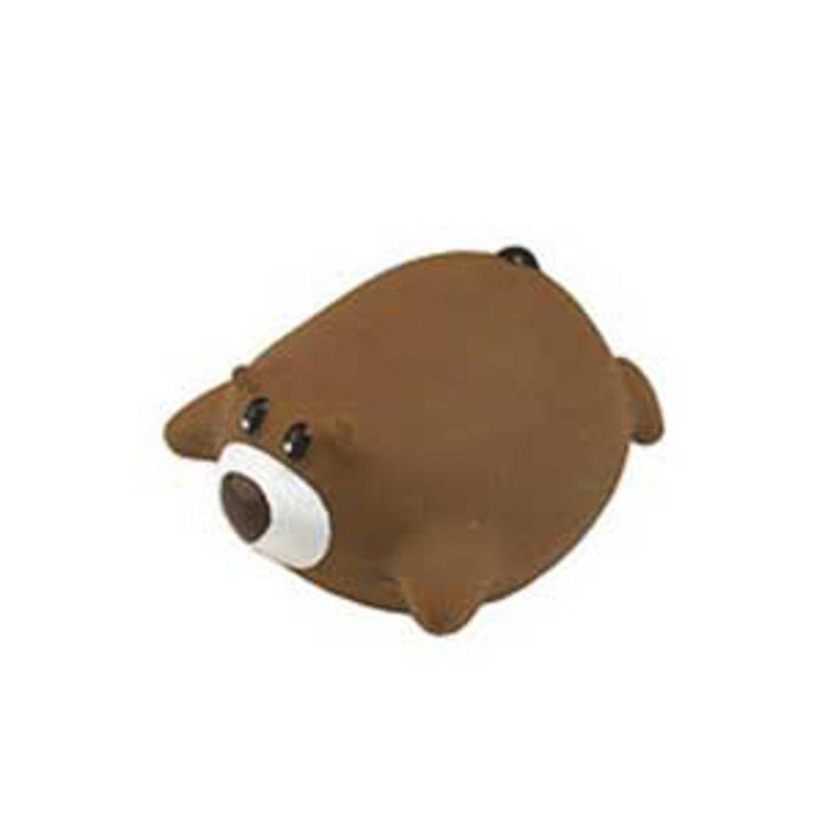 日本 ADDMATE 發聲乳膠玩具 - 熊仔