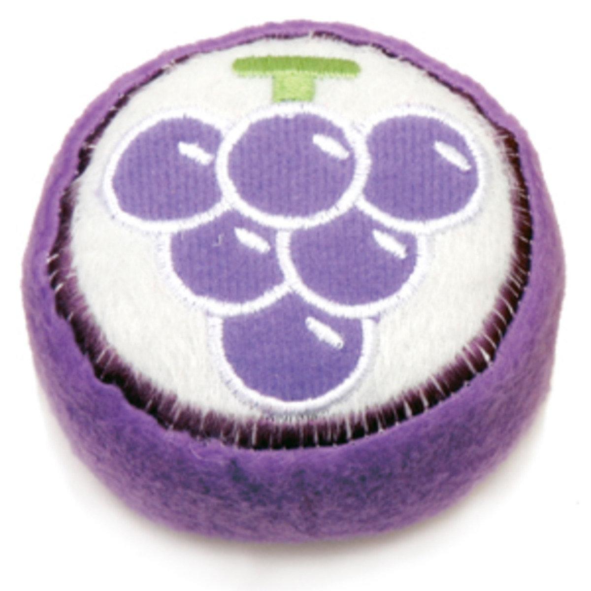 日本 ADDMATE 發聲絨毛玩具 - 葡萄