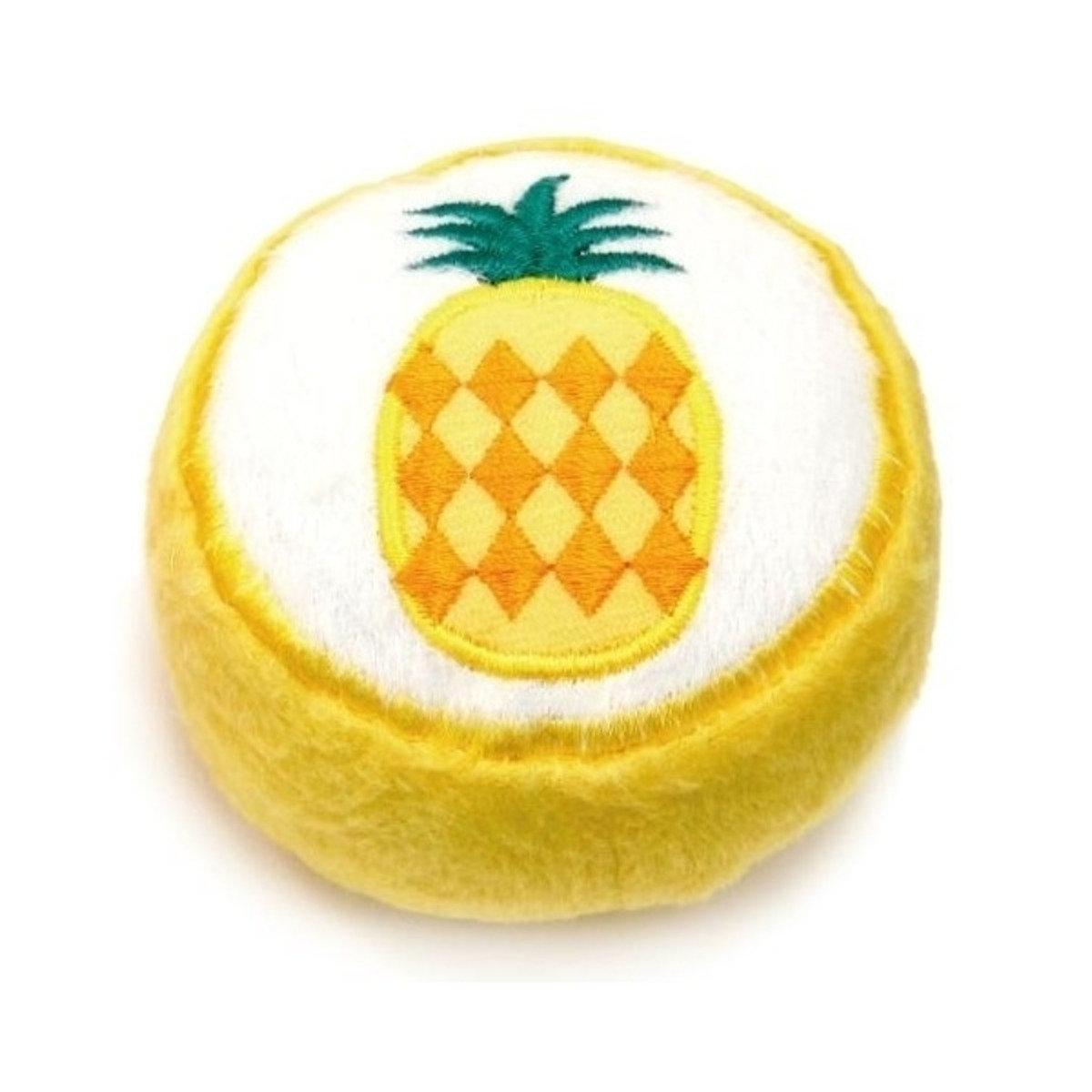 日本 ADDMATE 發聲絨毛玩具 - 菠蘿