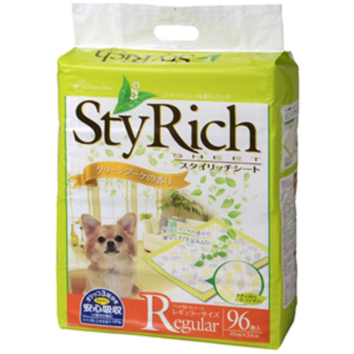 日本 CS 花香味寵物尿片96片裝 - 45x34cm