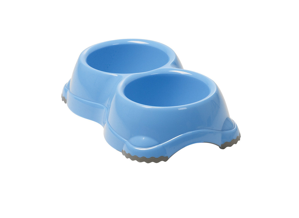 Double Smarty Bowl 寵物碗 H107 - 藍色