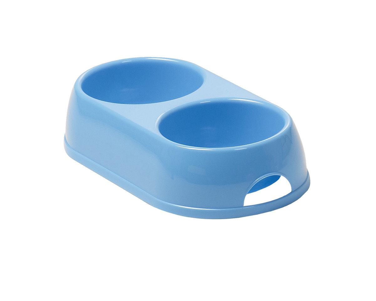 Double Bowl  寵物碗 H122 - 鮮藍色